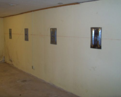 Another well-done Foundation Repair using Wall Anchors