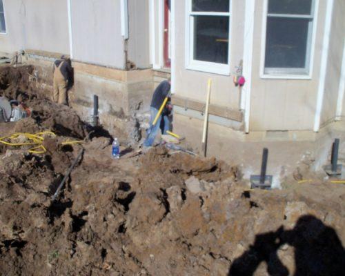 MFR Repairing Foundation Settling in Frontenac, Kansas