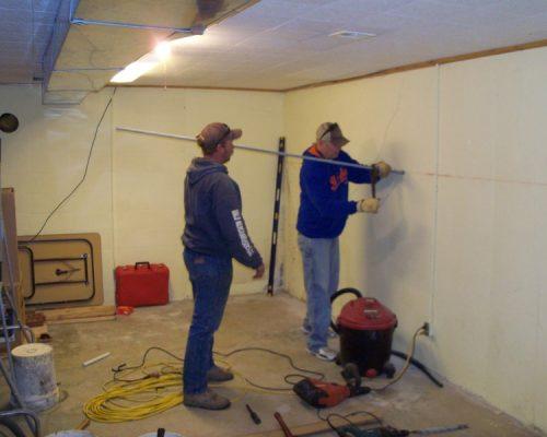 Wall Anchor Rod