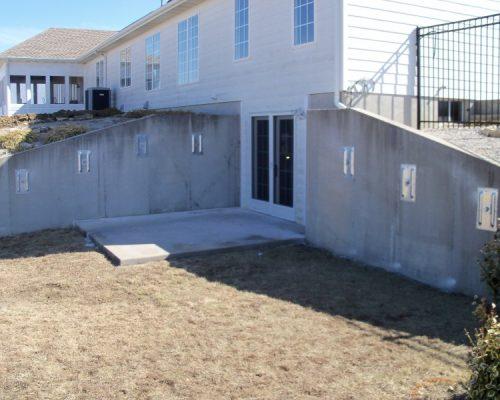 Wall Anchors MFR Foundation Repair in Centerville, KS